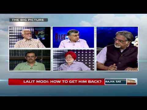The Big Picture : Lalit Modi - How to get him back?