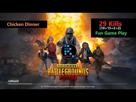 [Hindi] PUBG Mobile | '29 Killls' With Squad & Fun Game Play