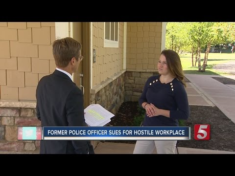 Former Police Officer Sues Department For Sexual Harassment