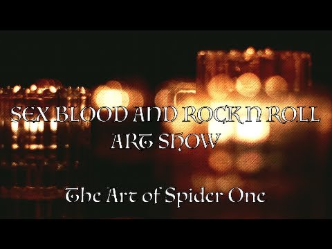 DOTD TV: Sex Blood And Rock N Roll - The Art of SPIDER ONE