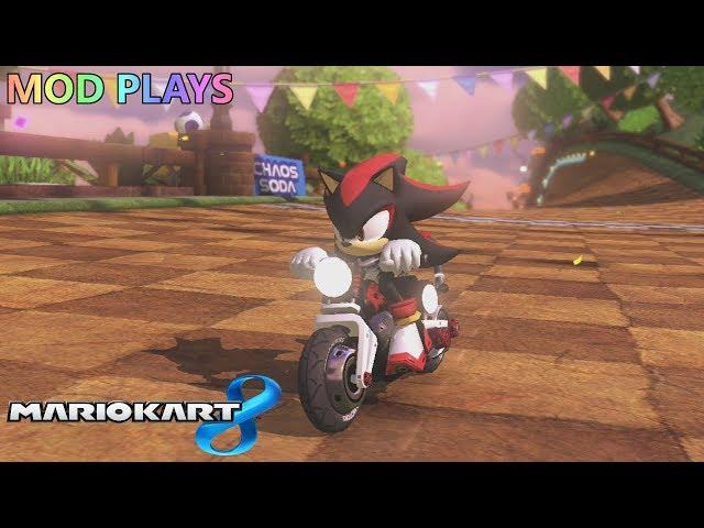 Mod Plays: Mario Kart 8 (Wii-U) - Shadow the Hedgehog