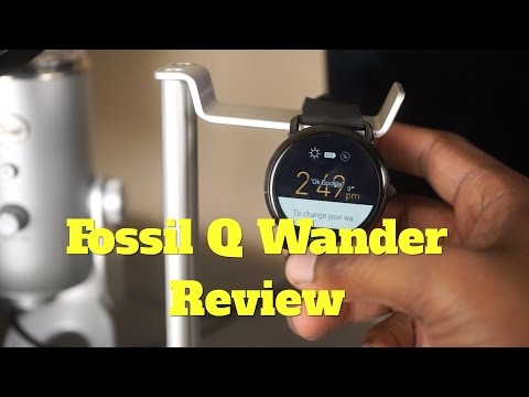 Fossil Q Wander Android Smartwatch Review!