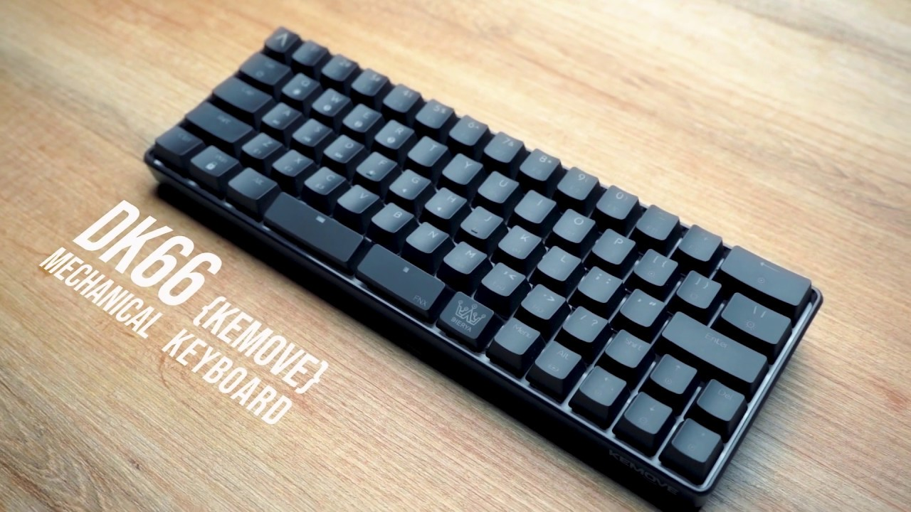 DK66  mechanical gaming keyboard by Kemove