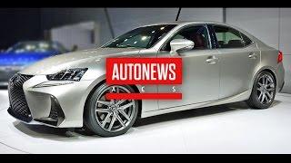 Обновлённый Lexus IS 2017 модельного представлен в Пекине(В рамках ежегодной Международной выставки автомобильной промышленности в Пекине премиальная японская..., 2016-04-28T08:04:06.000Z)