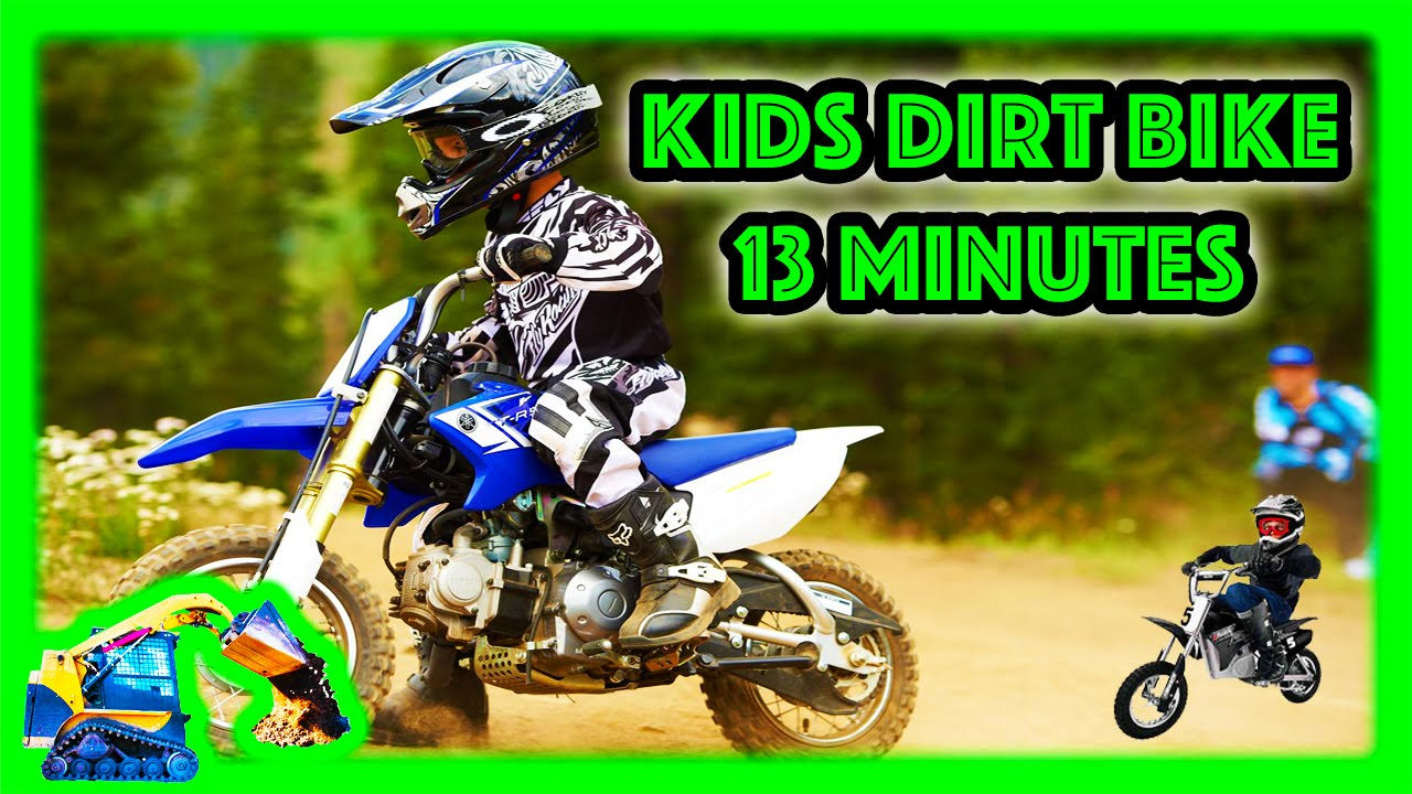 Freestyle Dirt Bike Tricks | Moving Machines Motorcycle for Kids ...
