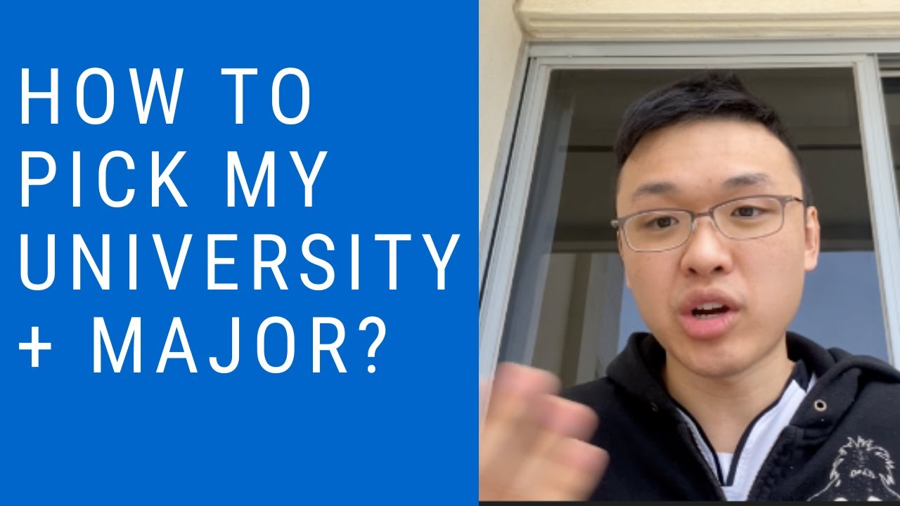 How to pick my University & Major? (Ep. 2 The IB Student Show)