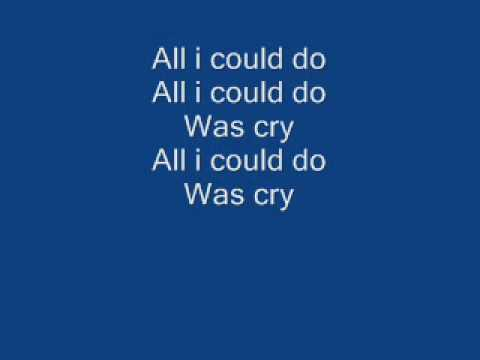 Beyonce - All i could do was cry (CHURCH BELLS)