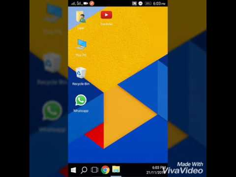 How to use WINDOWS 10 in any Android Phone ?