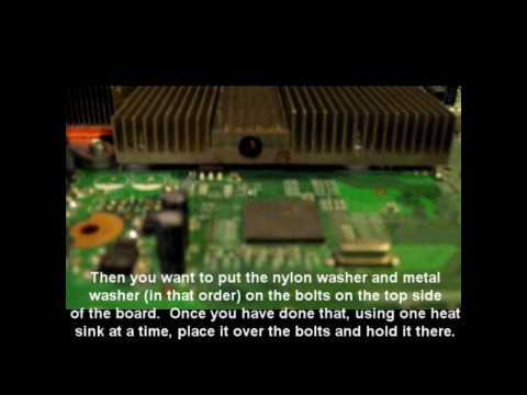 Xbox 360 3 Red Lights Error 0020 Fix