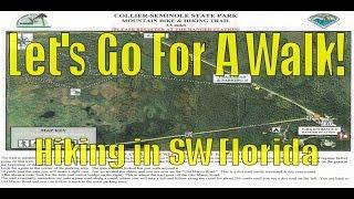 3.5 mile Mountain Bike and Hiking Trail - Seminole State Park - Florida