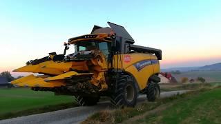 Żniwa kukurydziane 2018 w GR Natkaniec!!! New Holland Cx 5.80  | Kubota | John Deere