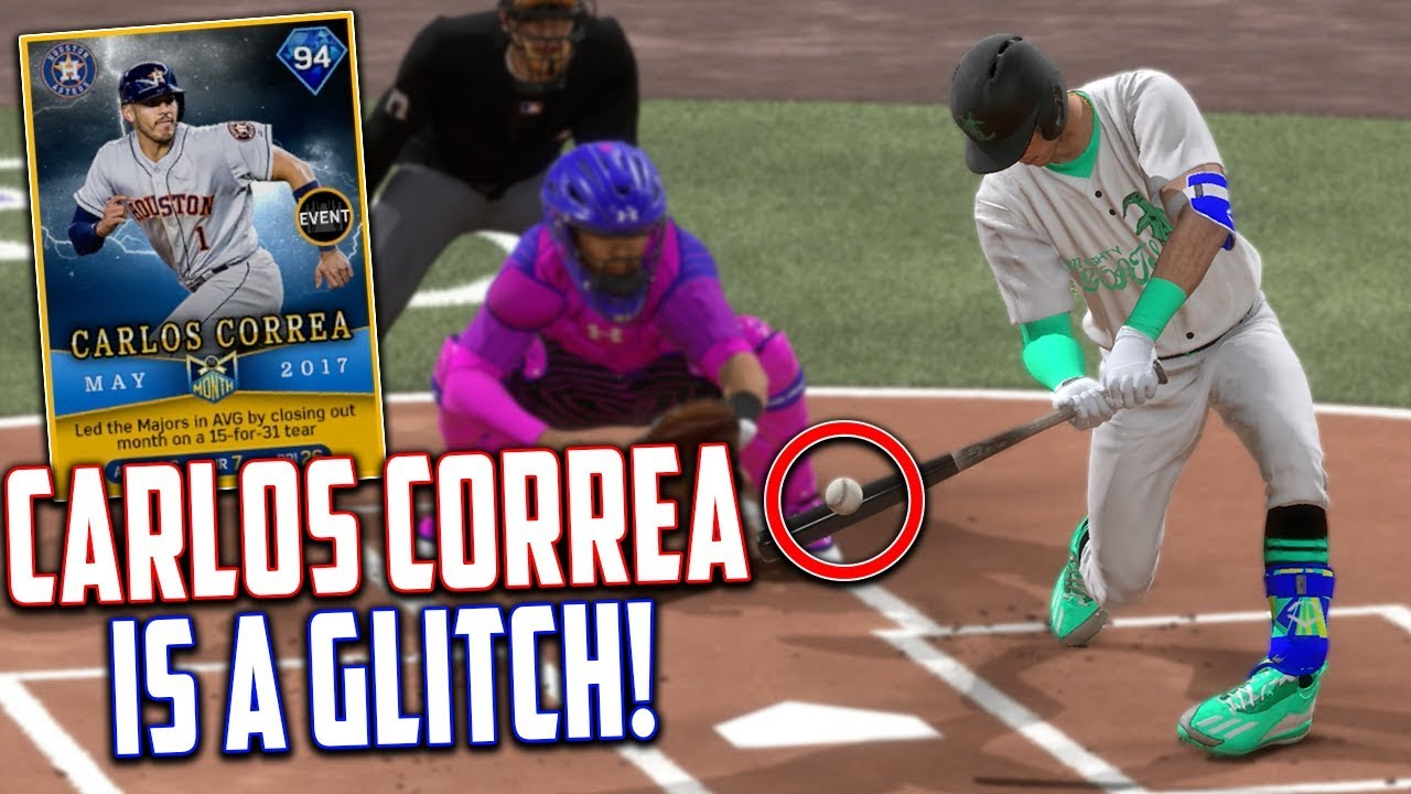 carlos correa can u0027t be stopped mlb the show 17 youtube