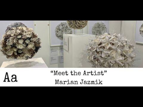 'Meet The Artist' (No:32) | Marian Jazmik | Textile Artist