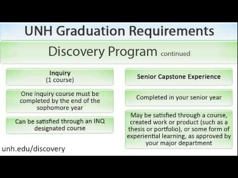 UNH Graduation Requirements