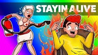 PANI PIELĘGNIARKO PALĘ SIĘ! PROSZĘ MI POMÓC! | STAYIN ALIVE /w Hadesiak