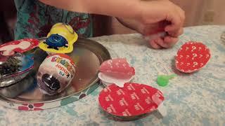 Містер Темыч: розпакування шоколадних яєць. Підроблені К і н д р и.