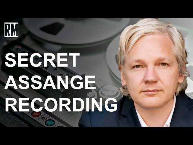 Explosive Recording of Assange Warning State Department