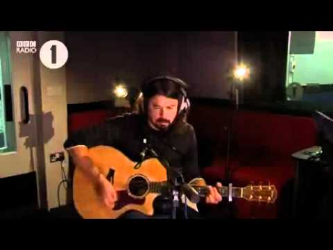 Dave Grohl - Wheels, Live @ The Chris Moyles Show