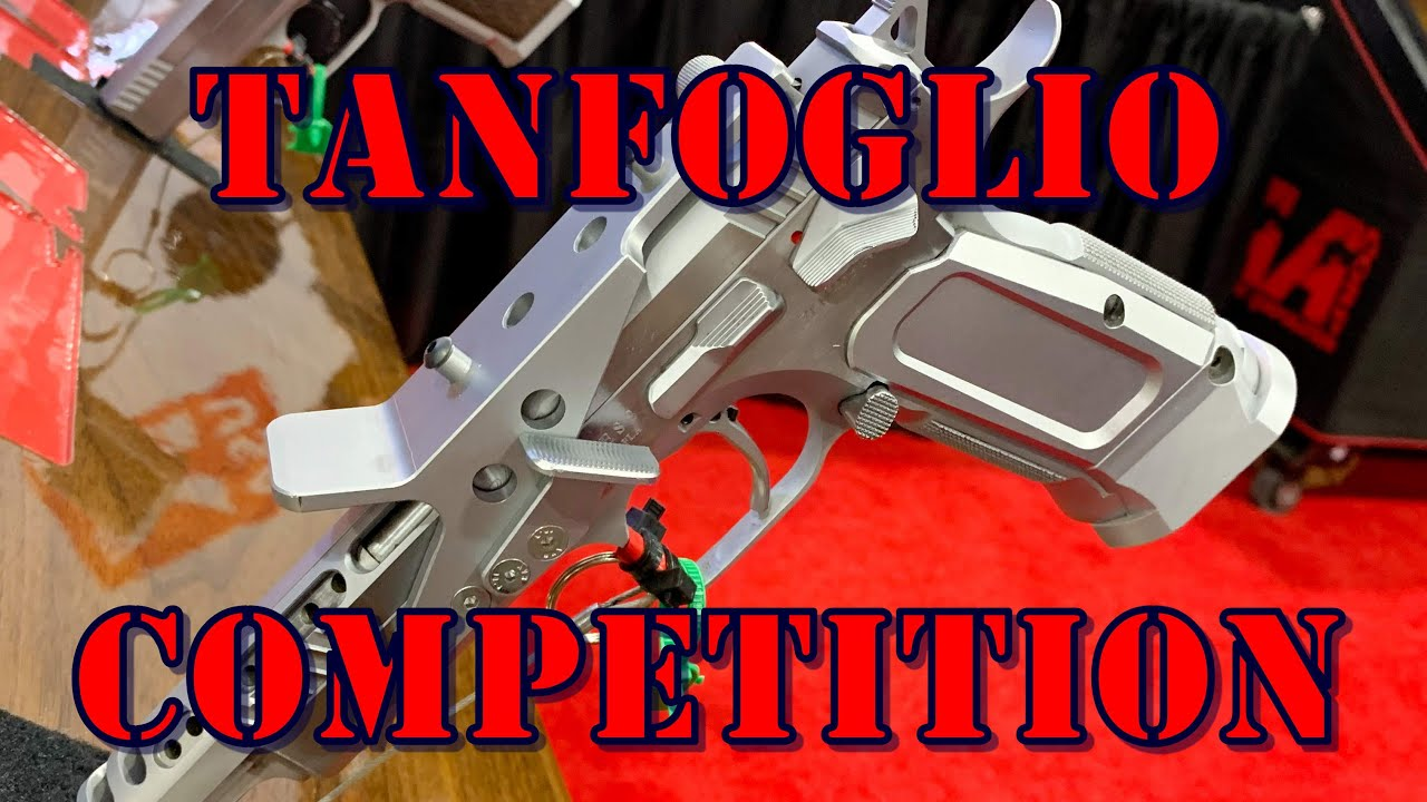 Tanfoglio Competition Pistols from EAA SHOT Show 2020