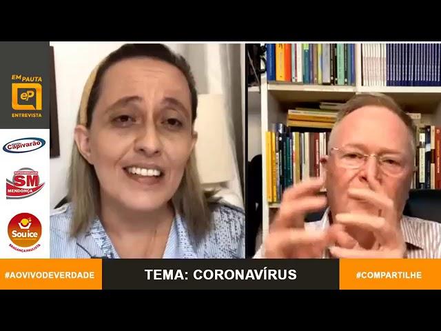 Médico Dr. Carlos Machado tira dúvidas sobre coronavírus