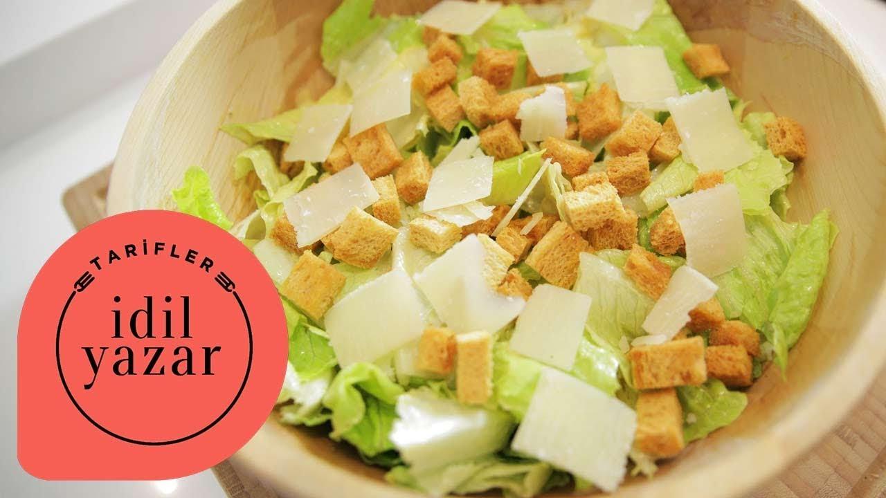 Kruton Salatası Nasıl Yapılır Resimli Tarif