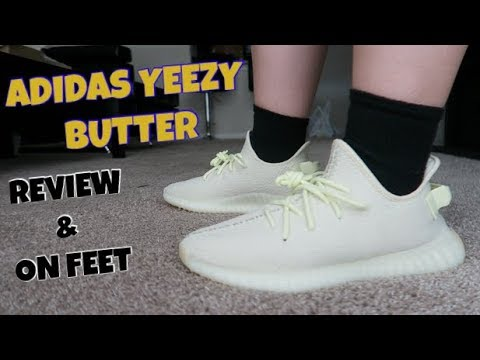 ADIDAS YEEZY BOOST 350 BUTTER REVIEW AND ON FEET! - YouTube f1361d6c4