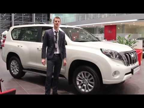 Обзор автомобиля Toyota Land Cruiser Prado
