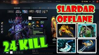 DOTA2 SLARDAR : !!! Gameplay ตีอย่างเเรง 30 kill !!! Guide To Play