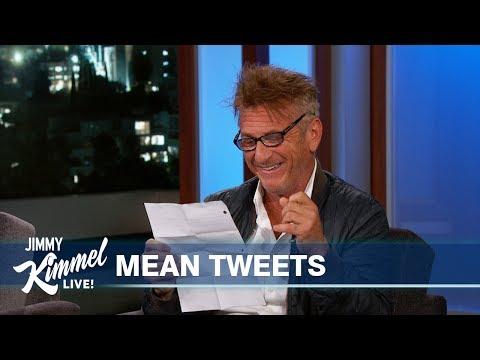 Sean Penn Reads Mean Tweets