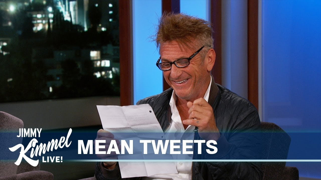 Sean Penn Reads Mean Tweets