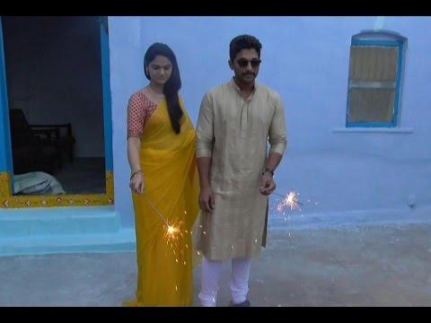 Allu Arjun and Sneha Reddy Dasara Celebrations
