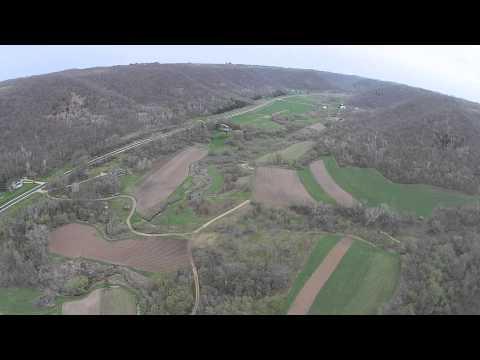 Romance Organic Farm - Drone  view
