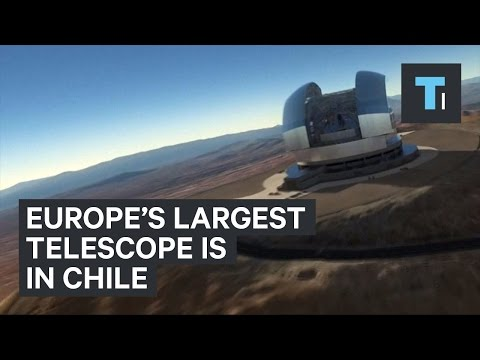 Europe's largest telescope is in Chile