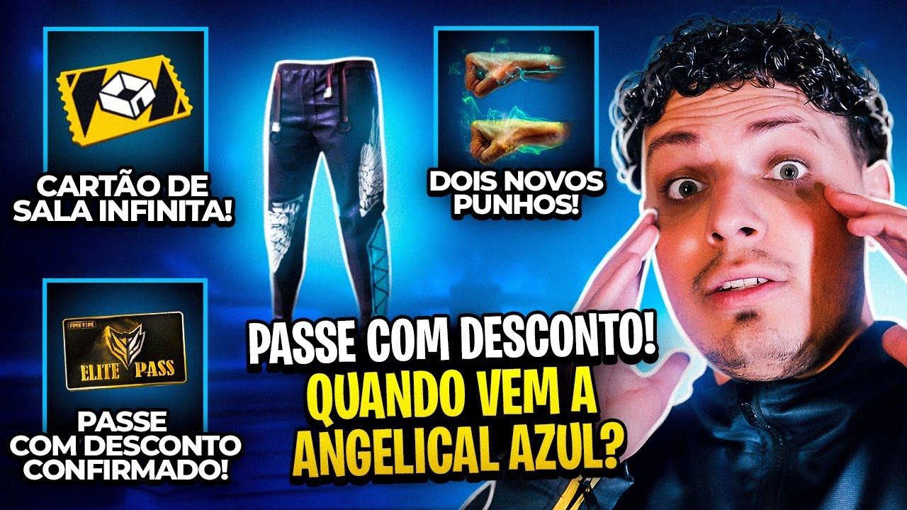 CARTÃO DE SALA INFINITO! ANGELICAL AZUL VOLTA QUANDO? PASSE COM DESCONTO E NOVIDADES DA SEMANA #GB12