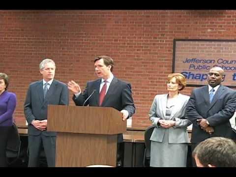 Jefferson County Public Schools Audit Annoucement Press Conference