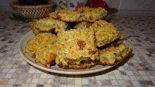 Самое вкусное овсяное печенье