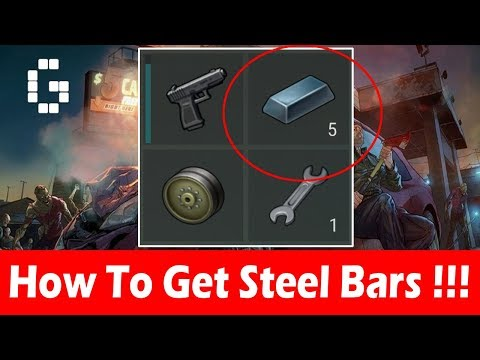 How To Get Steel Bars! (Exact Location) In Last Day On Earth Survival