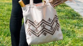 How to Make a Tea-Dyed Tote Bag | Sunset