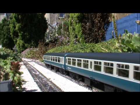 Hampton Field Garden Railway magnetic coupling load test July 2012