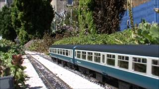 Hampton Field Garden Railway magnetic coupling load test July 2012