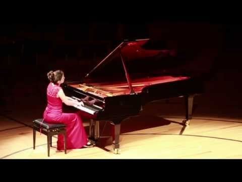 Ivana Gavric plays Grieg Sonata Op 7 Second Movement, KKL Lucerne