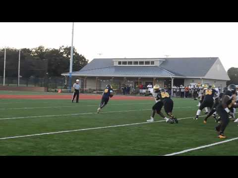 Wright pass from Lewis Avalon/St. Frances football 8/22/15