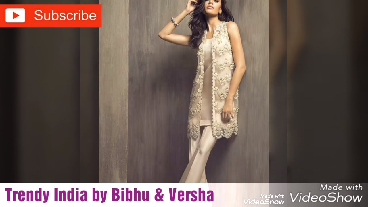 f798a82add Pakistani Designer suit|Kurtis|Fancy Party Wear Kurtis 2017-2018 Latest  Collection|Trendy India