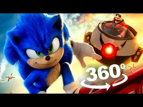 VR 360 Video Of Sonic The Hedgehog