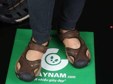 Giày dép sandal nam mới nhất 2019