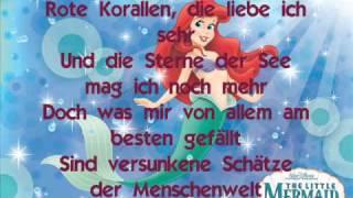 """Arielle- Lied """"Rote Korallen, die liebe ich sehr..."""""""