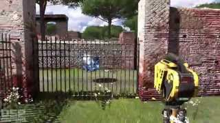 The Talos Principle (PS4) playthrough pt1 - God Has a LOUD Speaking Voice