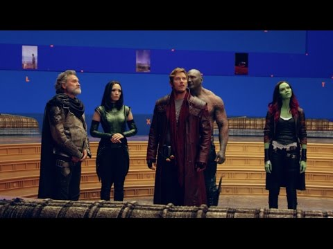 Guardians of the Galaxy Vol. 2: Behind the Scenes Movie Broll 1- Chris Pratt