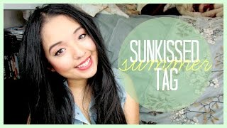 SUNKISSED SUMMER TAG ♡ Some of my favorite summer things! Thumbnail