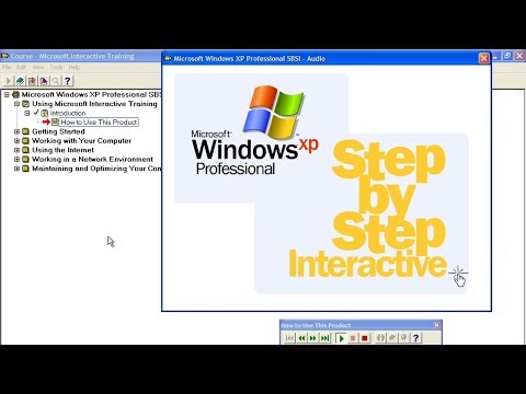 Microsoft Interactive Training (SBSI) For Windows XP Professional Full Demo